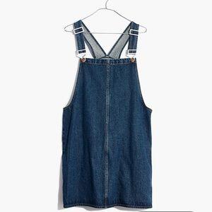 Madewell Denim Overall Mini Dress
